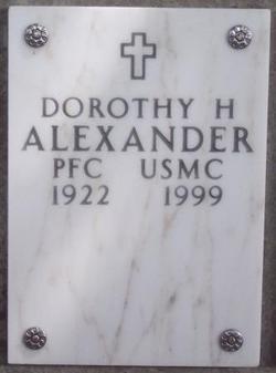 Dorothy Helen Alexander