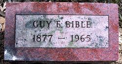 Guy E Bible