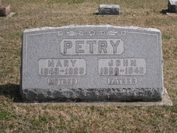Mary <i>Lemasters</i> Petry