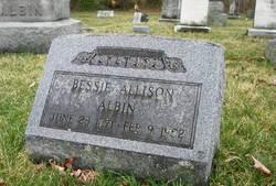 Bessie Allison Albin