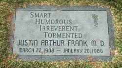 MD Justin Arthur Frank