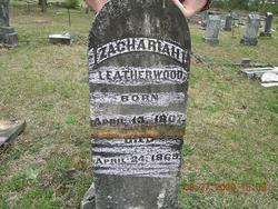 Zachariah Perry Leatherwood, Sr