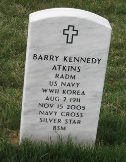 Adm Barry Kennedy Atkins