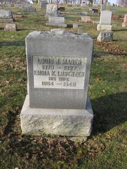 Emma Katherine <i>Lorenzen</i> Mader