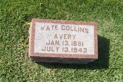 Katherine Emma Kate <i>Collins</i> Avery
