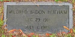 Mildred <i>Badon</i> Hufham