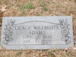 Grace <i>Willhoite</i> Adams