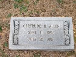 Gertrude H Allen