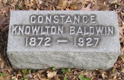 Constance <i>Knowlton</i> Baldwin