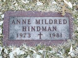 Anne Mildred Hindman