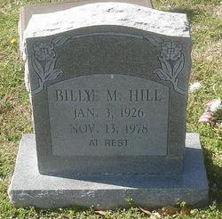 Billy Mack Hill