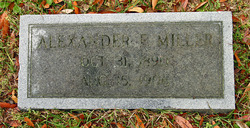 Alexander Franklin Alex Miller