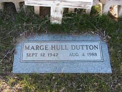 Marge <i>Hull</i> Dutton