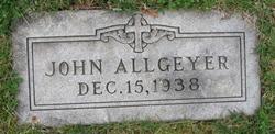 John Allgeyer
