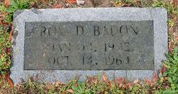 Roy Delaven Badon