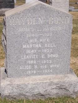 Alice Bell <i>Hayden</i> Bond