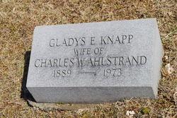 Gladys E <i>Knapp</i> Ahlstrand