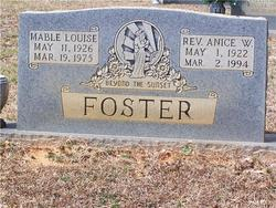 Mable Louise <i>Hooker</i> Foster