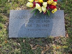 Goldie <i>Simons</i> Dubois