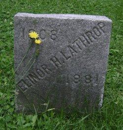 Elinor H Lathrop