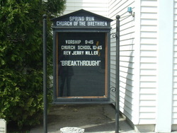 Spring Run Brethren Cemetery