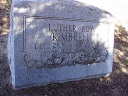 Luther Roy Kimbrell
