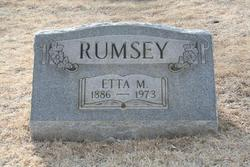 Etta May <i>Franklin</i> Rumsey