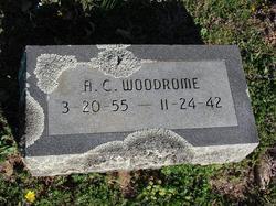 Alfred Sidney A C Woodrome