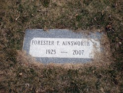 Forester Fisher Fog Ainsworth, Jr