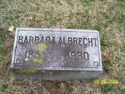 Barbara <i>Allen</i> Albrecht