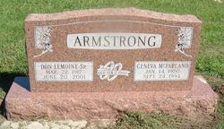 Don Lemonie, Sr. Armstrong