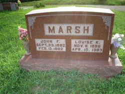 Louise Lizzie <i>Kupferschmied</i> Marsh