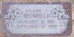 Pauline Jane <i>Riggs</i> Brumfield