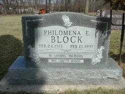Philomena Elaine Minnie Block