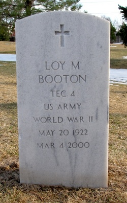 Loy M Booton