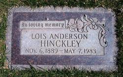 Lois <i>Anderson</i> Hinckley