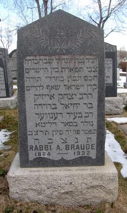 Rabbi Isaac A. Braude