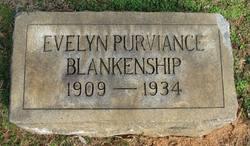 Evelyn Adel <i>Purviance</i> Blankenship