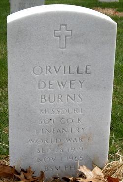 Orville Dewey Burns