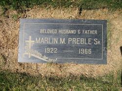 Marlin Morris Preble, Sr