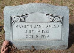 Marilyn Jane Amend