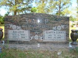 Rebecca Eunice <i>Smith</i> Sapp