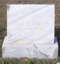 Jane Elizabeth <i>McPherson</i> Rawls