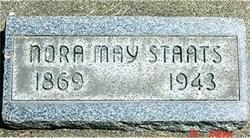Nora May <i>Hubbard</i> Staats