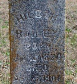 Hildah Bailey