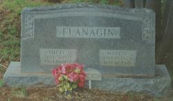 Mary Ella <i>Carson</i> Flanagin