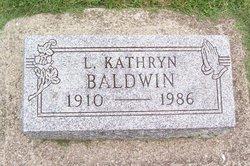 L Kathryn <i>Burks</i> Baldwin