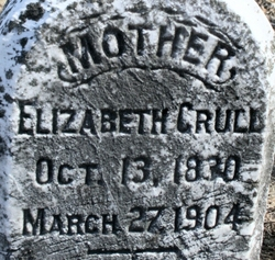 Elizabeth <i>Fisher</i> Crull