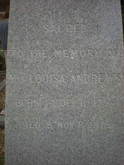 Louisa Andrews
