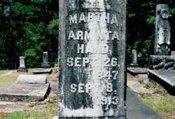 Martha Arminta <i>Bishop</i> Hand